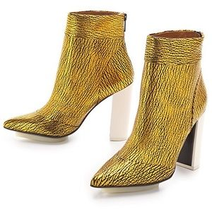 3.1 Phillip Lim Peggy boots - golden leather 36.5